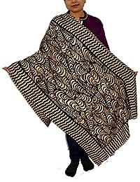 Sanvitta's Abstract Print Viscose Women's Stole Shawl Wrap Dupatta