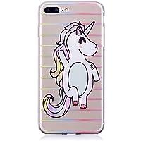"iPhone 7 Plus (5,5"") Hülle, Edaroo Ultra Dünn Leicht Transparent Klar Silikon Handyhülle mit Süßes Bunt Motiv... preisvergleich bei billige-tabletten.eu"