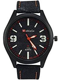 Polo House USA Men's Analog Black Dial Watch - phwGwomage5