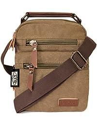 3febe5d2b Amazon.co.uk: Canvas - Men's Bags / Handbags & Shoulder Bags: Shoes ...