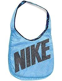 Nike Graphic Reversible Tote Bolsa de Deporte, Mujer, Azul (Lt Photo Blue / Deep Royal Blue / Black), Talla Única