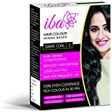 Iba Halal Care Hair Colour, Dark Coal, 60g