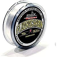 Molix Filo Fluorocarbon 10 lb 0.278 mm Fili e filati Attrezzatura Pesca 251-10