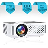 "Egate i9 Real HD 720p (1080p Support) , 2400 L (225 ANSI ) with 150 "" Large Display LED Projector 