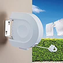 Top Home Solutions 12M retráctil carrete Tendedero