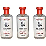 12 Oz (Pack Of 3) : Thayers Alcohol-free Rose Petal Soothing Witch Hazel For Face & Skin With Aloe Vera, 12 Oz...