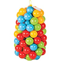 Preisvergleich für Jamara 460267 ø 90 mm 460267-Bälle für Bällepool Happy Balls 90mm VE100-Ballgröße Ø 90mm, Bälle in 4, Weichkunststoff