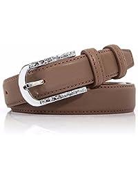 ZHANGYONG Aguja Simple Mujeres Hebilla Cinturón Moda Cien Pantalones Jeans  Casual Cinturón Caqui f128515b85bd