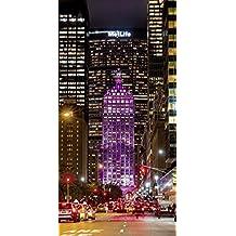 Artland Póster De Impresión o Lienzo–Cuadro de Imagen listo Madera Contrachapada en bastidor Kurt Krause–New York Park Avenue Ciudades América York fotografía Rosa/Rosa, lienzo o póster, rosa, 40x30 cm / Poster