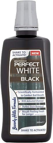 Beverly Hills Formula Perfect White Black Mouthwash, 500 ml