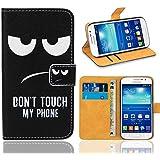 Samsung Galaxy Grand Neo Plus Funda, FoneExpert® Wallet Flip Billetera Carcasa Caso Cover Case Funda de Cuero Para Samsung Galaxy Grand Neo Plus i9060 / Galaxy Grand Neo (Pattern 15)