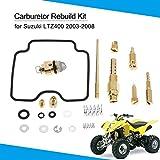 KKmoon Kit de Reparación del Carburador Reconstrucción para Suzuki LTZ400 2003-2008
