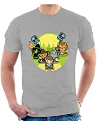 Wizard of Oz Dorothy And Friends Yellow Brick Road Men's T-Shirt