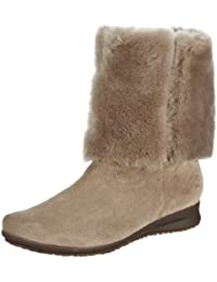 Mephisto Florida Dark Taupe Ladies Long Warm Lined Boot