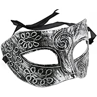Cool Adult Men Greek Roman Fighter Masquerade Face Mask for Fancy Dress Ball /Masked Ball /Halloween