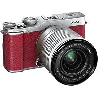 Fujifilm X-A1 Systemkamera (16 Megapixel APS-C CMOS Sensor, 7,6 cm (3 Zoll) LCD-Display, WiFi) inkl. XC16-50mm Kit rot