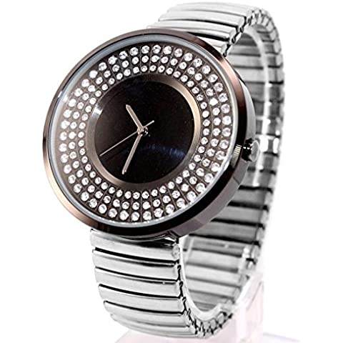 ukfw458j Water Resist Donna Scintillanti Cristalli espansione Fashion Watch