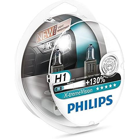 Philips 12258XV+S2 - bombilla para coches (55W, 1, Halógeno)