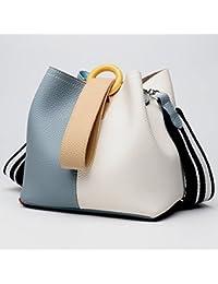 50cbb42bb3fd3 Junjiagao 2018 neue Damen Handtaschen Leder Handtaschen Bucket Bag Fashion  Handtasche Schulter…