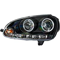 AutoStyle 3300-GLF03-MJM L - Fs delanteros con motor y anillos de luces