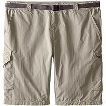 Columbia hombre Silver Ridge Cargo pantalones cortos, hombre, color Tusk/Tusk, tamaño Size 42/10
