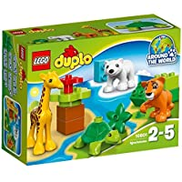 LEGO DUPLO - Animales bebés, multicolor (10801)