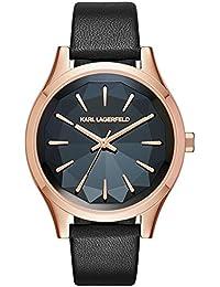 Karl Lagerfeld–Belleville–Uhr–Schwarz