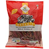 24 Mantra Organic Red Stick Chilly, 100g