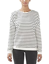 ESPRIT Sports Damen Sweatshirt 017ei1j003-Streifensweatshirt