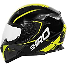 Shiro Casco Motegi, amarillo, talla XL