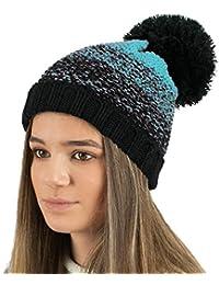 8ec669c83e0 Amazon.co.uk  Turquoise - Skullies   Beanies   Hats   Caps  Clothing