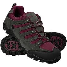 Mountain Warehouse Zapatillas para mujer - transpirables, zapatillas con cordones para cualquier época del año- Para excursión, gimnasio y correr