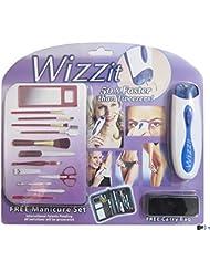 Removedor de pelo electrico cara/cuerpo WIZZIT-MUJER con set de manicura