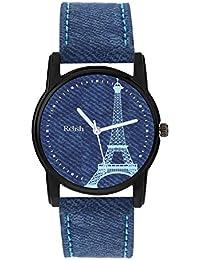 Relish Analog Denim Dial Watches for Girls & Women RE-L092DB