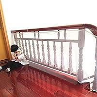 BTSKY duradero resistente al agua impermeable ajustable niño bebé Kid balcón y valla de escalera Baranda de malla red de protección