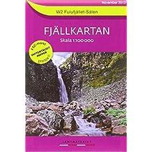 Fjällkartan Bergwanderkarte 1 : 100 000 W2 Fulufjället - Sälen