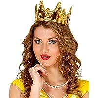 Guirca - Corona de reina, color oro (16638)