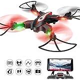 FPV Faltbar RC Drohne Syma X56W Foldable flexible RC Quadcopter Mit Wifi HD Kamera APP Steuerung live Video Tragbar klappbar Hubschrauber Höhenhaltung 360 Grad Drehung Kopflos Modus Schwerkraft-Sensor RTF Für Kinder