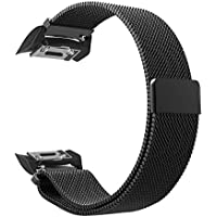 FINTIE Gear S2 Watch Replacement Band - [Unique Magnet Lock] Adjustable Milanese Loop Stainless Steel Wristband Bracelet Strap for Samsung Gear S2 SM-R720/SM-R730 Smartwatch,