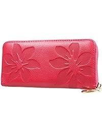 080cee49b9559 Cyber Montag Deals 2017-valentoria ® Damen Soft Case Long Organizer  Brieftasche Reißverschluss Reihenfolge Kupplung