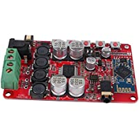 Audioverstärkerplatine,TDA7492P Digitale Verstärkerplatine Wireless Digital Bluetooth 4.0 Audio-Receiver Verstärker Board,unterstützt alle Versionen des Bluetooth-Stereoeingangs,DC 8V ~ 25V