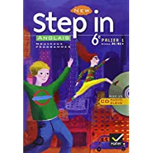 New Step In Anglais 6e + CD (manuel élève)