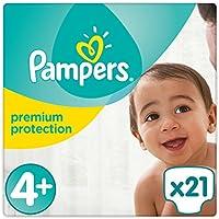 Pampers Premium Protection Windeln, Gr. 4+ (9-18kg), 1er Pack (1 x 21 Stück)