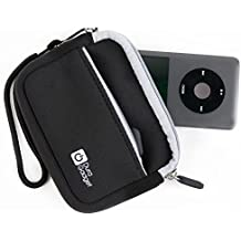 DURAGADGET Mini Funda Negra Para iPod Classic - Hecha En Neopreno De Alta Calidad