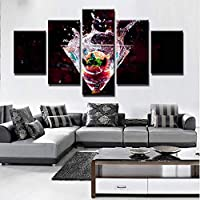 54c7d666c2c92 Foagge HD Prints Canvas Paintings Home Decor Cocktail Drink Immagini 5  Pezzi per Kitchen   Restaurant