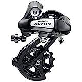 SHIMANO Schakelsysteem Altus RD-M310 7/8-speed zwart fiets MTB directe montage fiets