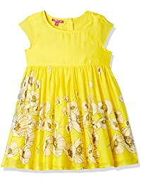 b6c5fd1cd344 Yellows Girls  Dresses  Buy Yellows Girls  Dresses online at best ...