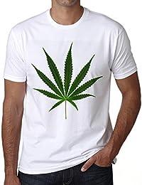 Cannabis green design H T-shirt,cadeau,Homme,Blanc,t shirt homme