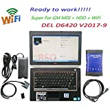 SLB Works MB Star Dig 2018.2 Hot For G-M MDI WiFi Best Multiple Diagnostic Interface For G-m Mdi Diagnosis Tool With Laptop E6420 I5 Ready To Work