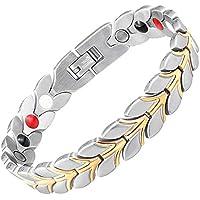 Damen Armband negativer Ion-magnetisch Heilkräfte Armband Schmerzlinderung Detox Energie Magnettherapie Gesundheit... preisvergleich bei billige-tabletten.eu
